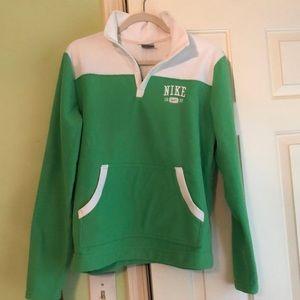 Women's Nike fleece pullover